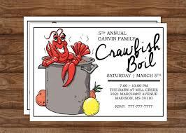 Crawfish BOIL ...