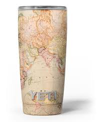 The Eastern World Map Skin Decal Vinyl Wrap Kit Compatible With The Designskinz