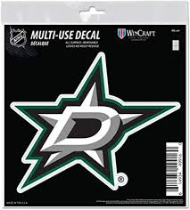 Amazon Com Dallas Stars 6 Decal Reusable Die Cut Logo Style Vinyl Auto Home Hockey Sports Outdoors