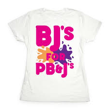 bj s for pb j s t shirt lookhuman