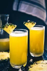 fresh pineapple juice recipe step by