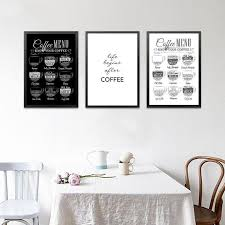 cafe posters wall art