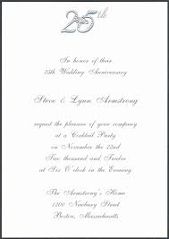 invitation cards for 25th wedding