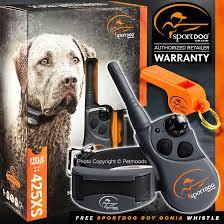 Sportdog Sd 425xs Stubborn Dog Remote Fieldtrainer 425s X Bundle Free Roy Gonia Ebay