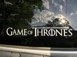 Game Of Thrones Inspired Car Decal Game Of Thrones Car Decal Etsy