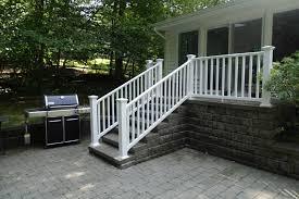 ny ct vinyl deck railing systems