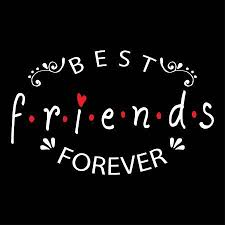 best friends forever friendship quote royalty cliparts