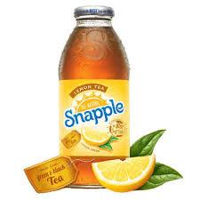 snapple lemon iced tea snapple