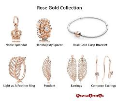 pandora rose gold collection yan ting
