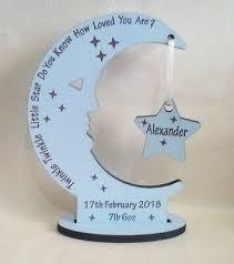 personalised newborn baby boy gift