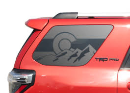 State Of Colorado Mountain Flag Decal Fits 2010 2019 Toyota 4runner Trd Pro Tf35 Ebay