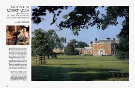 NOTES FOR ROBERT ADAM | Architectural Digest | MARCH 1996