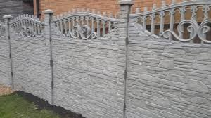 Decorative Concrete Fence Panels York Effect Y3s Youtube
