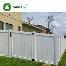 6 X 8 Vinyl Privacy Fence Double Gate On A Slope Hill From China Manufacturer Sam Uk