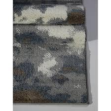 toronto brampton ivory gray area rug