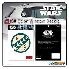 Exterior Accessories Automotive Star Wars Darth Vader Passenger Series Perforated Pvc Window Decal Automotive Exterior Accessories