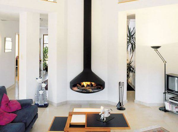 The Advantages and Disadvantages of Gas Hanging Fireplaces