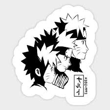 Naruto Anime Clan 15 Years Vinyl Decal Laptop
