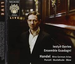 Handel: Nine German Arias by Iestyn Davies - Amazon.com Music