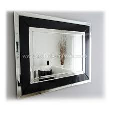 triple frame modern wall mirror 100 x