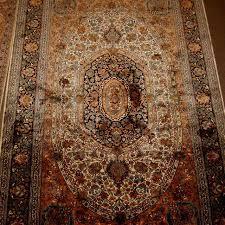 kashmir silk carpet from india silk