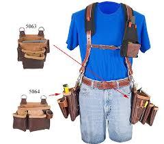 leather vs nylon occidental tool belts