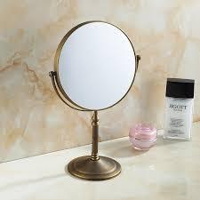 bathroom magnifying makeup mirror