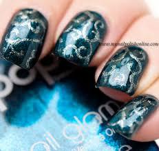 nail art sunday swirls my nail