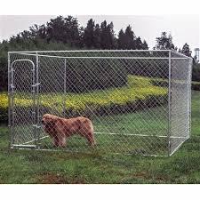 Diy Chain Link Dog Kennel 10 X 10 X 6 Feet Aleko