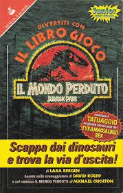Item - Divertiti con il libro gioco Il mondo perduto: Jurassic ...