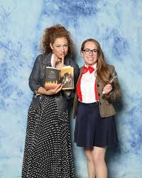 Alex Kingston is a delightful human and I'm so glad to have met ...