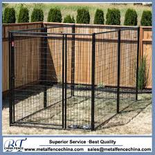 China Modular Welded Wire Kennel Panel China Iron Cages And Metal Pet Cage Price