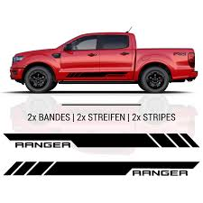 Ford Ranger Side Stripes Stickers Set