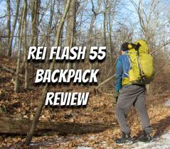 rei flash 55 backpack review section