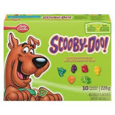 scooby doo shapes fruit snacks