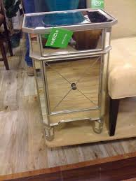 home goods mirrored nightstand