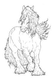 Pin Op Coloring Pages Horses
