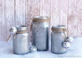 diy mercury glass mason jars a night