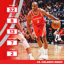 Chris Paul - Stats vs Orlando Magic ...