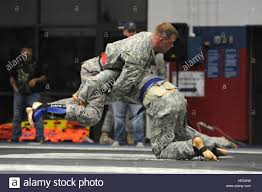 Sgt. Dustin Bell (red), Fort Bragg, and Sgt. 1st Class James Stelly Stock  Photo - Alamy