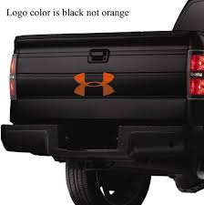 Amazon Com Under Armour 15 Ua Logo Auto Body Decal Black Sports Outdoors