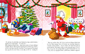 Walt Disney Book Scans – Uncle Scrooge's giáng sinh Eve (Danish ...