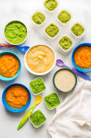 homemade baby food peas green beans