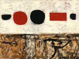 Adolph Gottlieb | The Frozen Sounds, Number 1 | Whitney Museum of American  Art