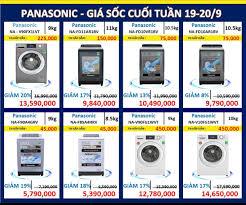 Máy giặt Panasonic Hãng thương hiệu với... - Điện Máy Xanh Bắc Quang - Hà  Giang