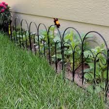 Garden Border Fences Stylish Garden Borders