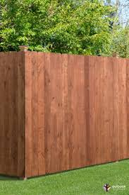 6x8 Dog Ear Wood Privacy Fence In 2020 Wood Fence Outdoor Essentials Wood Privacy Fence
