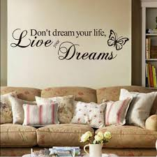 Removable Quote Word Decal Vinyl Diy Room Decor Art Wall Stickers Bedroom For Sale Online Ebay