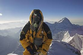 The Summit of Everest is only halfway ...