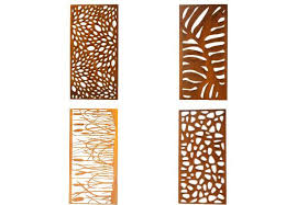 garden corten steel screen grabone nz